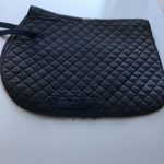 Navy Blue Roma Saddle Cloth
