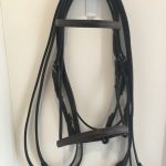 Mal Byrne Raised Weymouth Pony Show Bridle