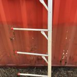 Aluminium Saddle Rack Stand