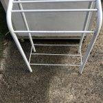 White Saddle Stand