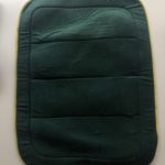 Green with  Gold Trim Saddle Pad
