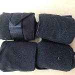 Black Polar Fleece Bandages