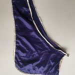 Purple Satin Bib