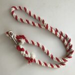 Red and White Cotton Lead